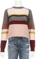 360 CASHMERE Emelina Stripe Cashmere Sweater