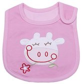 ACVIP Cotton Animal Shaped Hook&loop Bibs