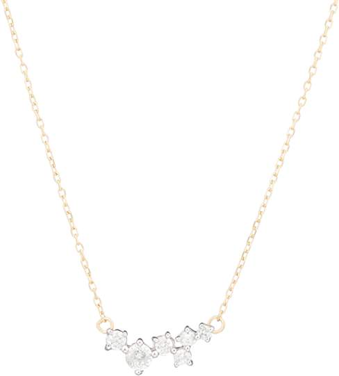 Adina Scattered Diamond Necklace