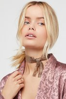 Free People Ava Chainmail Tie Scarf Choker