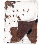 Tadpoles TadpolesTM by Sleeping Partners Cowhide Print Double-Sided Plush Blanket