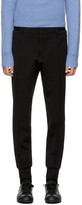 Wooyoungmi Black Wool Suit Trousers