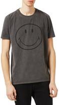 Topman Men's Smiley Face Graphic T-Shirt