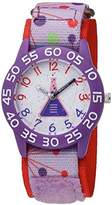 EWatchFactory Girl's 'Discovery Channel' Quartz Plastic and Nylon Sport Watch, Color:Pink (Model: WDC000009)