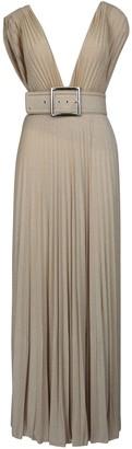 Elisabetta Franchi Celyn B. Jersey Long With Belt Dress