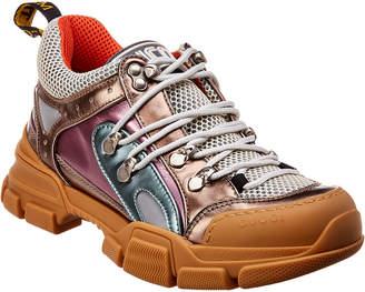 Gucci Flashtrek Leather Sneaker