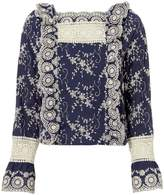 Nightcap Clothing Clementine Embroidered Blouse