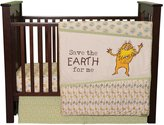 Trend Lab Dr. Seuss The Lorax 3 Piece Crib Bedding Set, Natural