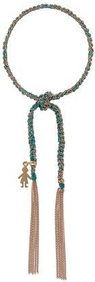 Carolina Bucci 18kt rose gold Lucky Bracelet with Baby Boy Charm