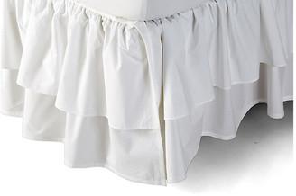 Rachel Ashwell Liliput Ruffle Bed Skirt - White Twin