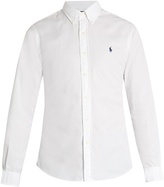 Polo Ralph Lauren Button-down collar logo-embroidered cotton shirt