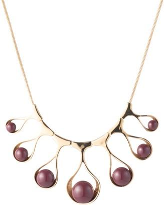Trina Turk Wavy Teardrop Collar Necklace