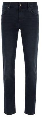 HUGO BOSS Extra Slim Fit Jeans In Super Soft Stretch Denim - Blue
