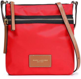 Marc Jacobs Leather-trimmed Shell Shoulder Bag