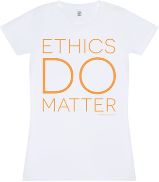 Bo Carter Ethics Do Matter T-Shirt (White)