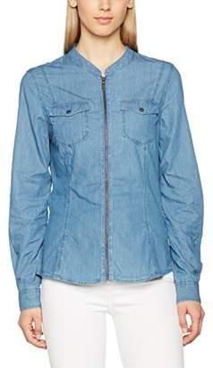 Colorado Denim Women's 16429-003 Slim Fit Long Sleeve Shirts - Blue - 12