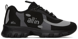 all in Black and Grey Yokohama Sneakers