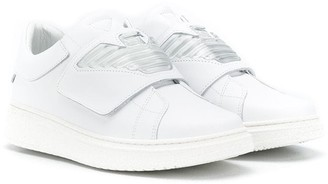 Emporio Armani Kids TEEN touch-strap sneakers