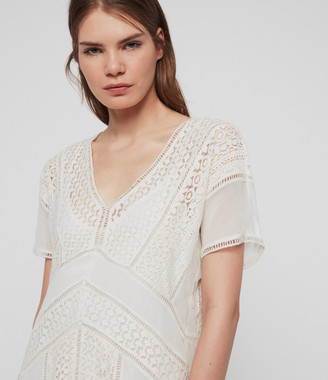 AllSaints Cindi Lace Dress