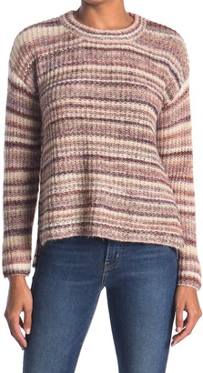 Heartloom Relaxed Fit Marbled Stripe Sweater