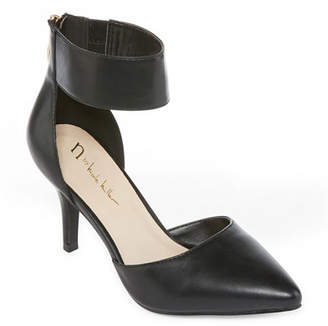 Nicole Miller Nicole By Womens Carty Pumps Pointed Toe Stiletto Heel