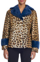 Simonetta Ravizza Animal-Print Fur Coat