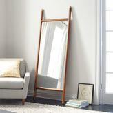 west elm Mid-Century Dowel Mirror – Pecan