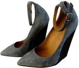 Isabel Marant Grey Suede Heels