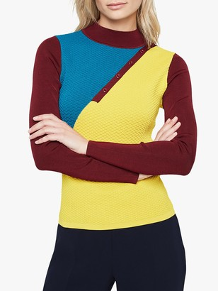 Damsel in a Dress Cliona Colour Block Knit Top, Multi