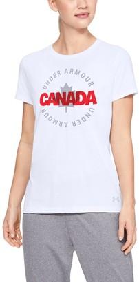 Under Armour Women's UA Canada Circle Short Sleeve T-Shirt