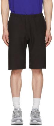 Champion Reverse Weave Black Fleece Bermuda Shorts