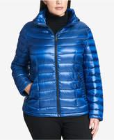 Calvin Klein Plus Size Packable Puffer Coat