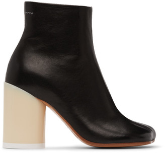 MM6 MAISON MARGIELA Black Ankle Boots