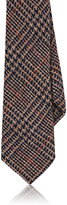 Alexander Olch MEN'S GLEN PLAID WOOL NECKTIE