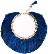 Rosantica Atena Fringed Gold-tone Necklace - one size