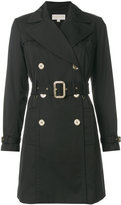 MICHAEL Michael Kors belted trench coat - women - Cotton/Polyester/Spandex/Elastane - M