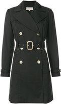 MICHAEL Michael Kors belted trench coat - women - Cotton/Polyester/Spandex/Elastane - S