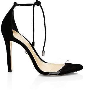 Schutz Women's Josseana Ankle-Tie Suede Sandals