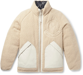 Moncler Genius - 2 1952 Reversible Fleece and Quilted Shell Down Jacket - Men - Neutrals