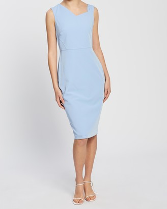 Dorothy Perkins Asymmetric Neckline Dress