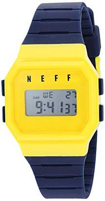 Neff Unisex NVYLNF0204 Digital Display Chinese Automatic Blue Watch