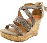 Jellypop Bobbi Women Open Toe Synthetic Wedge Sandal.