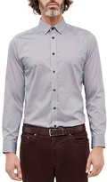 Ted Baker Jamidoj Wavy Line Regular Fit Button Down Shirt