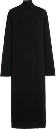 LA COLLECTION Angelica Cashmere Turtleneck Midi Dress