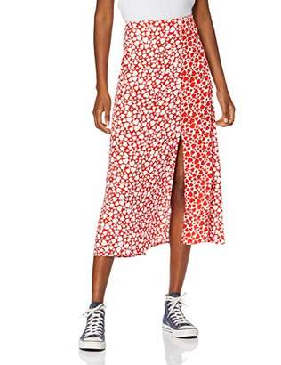 New Look Women's Heart Split Skirt,6 (Manufacturer Size:6)