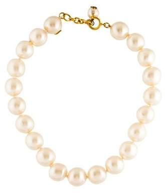 Chanel Pearl Bead Strand Necklace