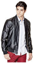 G by Guess GByGUESS Men's Bronson Faux-Leather Jacket