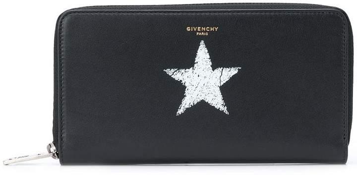 Givenchy star print wallet