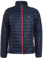 Patagonia Nano Puff Outdoor Jacket Navy Blue/paintbrush Red