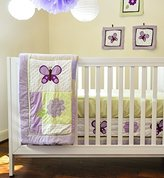 Pam Grace Creations 10 Piece Crib Bedding Set, Lavender Butterfly by
